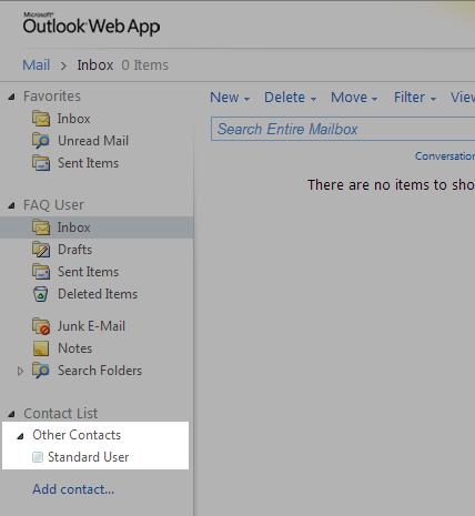 Using Lync in Outlook Web App – Dynamix