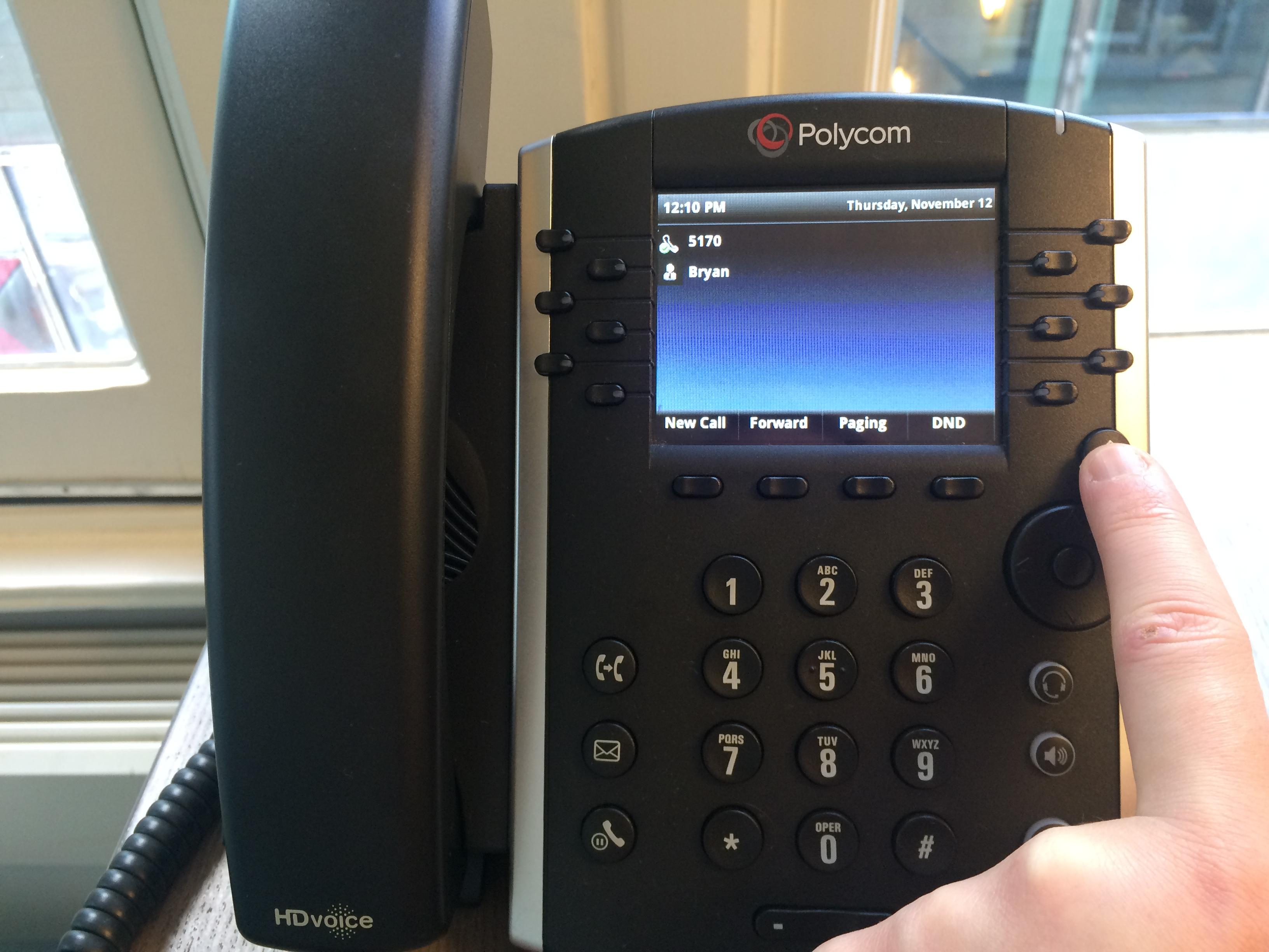 How to manually provision a Polycom a VVX 400/410 on the